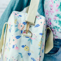 Womens Overnight Canvas Holdall  Maternity Travel Bag Hand Luggage Gym  Handbag