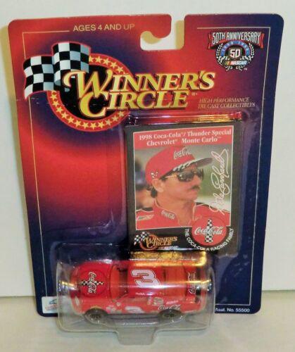 Dale Earnhardt #3 Coke-Cola /'Japan/' Thunder Special 1998 1//64 Winner Circle