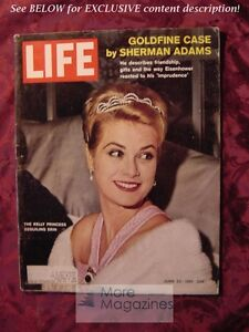 LIFE Magazine June 23 1961 SAC GRACE KELLY HARVARD OSKAR KOKOSCHKA ... 6ed8744495b