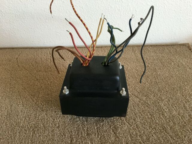 USED VINTAGE POWER TRANSFORMER FROM GE TABLE MODEL TRANSMITTER / RECEIVER, TI36N