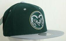 COLORADO STATE ST TOW RAMS UNIVERSITY NCAA ESTABLISHED 1870 KHAKI CAP HAT NWT