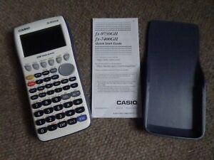 Casio-FX-9750GII-Graphing-Calculator-White