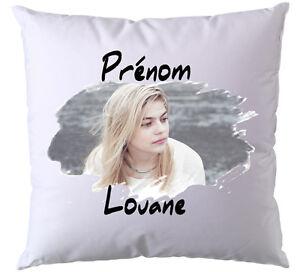 Coussin Louane V1 Avec Prénom De Votre Choix