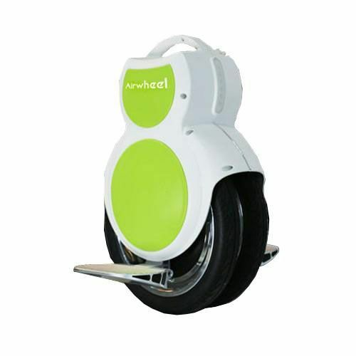 Airwheel Q6 - Self Balancing Electric Unicycle 130 Wh White&Blue
