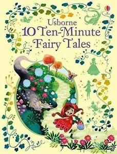 Usborne-Illustrated-10-Ten-Minute-Fairy-Tales-Hardback-Kid-Fun-Short-Stories-New