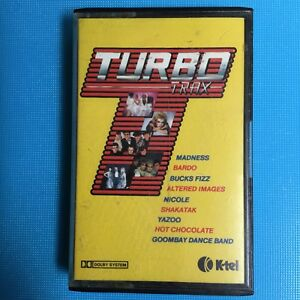 TURBO-Trax-Madness-Bad-Manners-1982-Rare-KTEL-Cassette-Tape