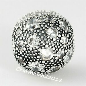 Authentic-Pandora-Charm-791286-Silver-S925-ALE-Cosmic-Stars-Clear-Clip