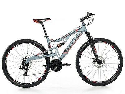 "Bicicleta de Montaña Mountainbike 29"" BTT FULL ALUM. SHIMANO. 2xDISCO FULL SUSP."