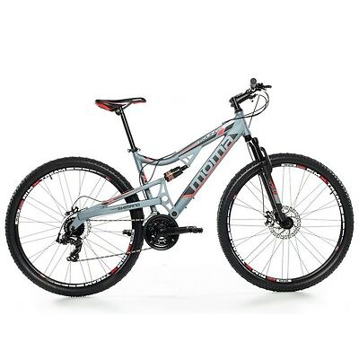 "Bicicleta Montaña Mountainbike MTB BTT 29"" FULL ALUM. SHIMANO 2xDISCO FULL SUSP."
