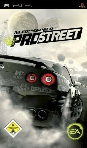 Sony PSP / Playstation Portable - Need Speed Pro Street dans l'emballage utilisé
