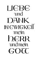 """PSALM  unbeschrieben """"H8000"""" Liebe und dank"""