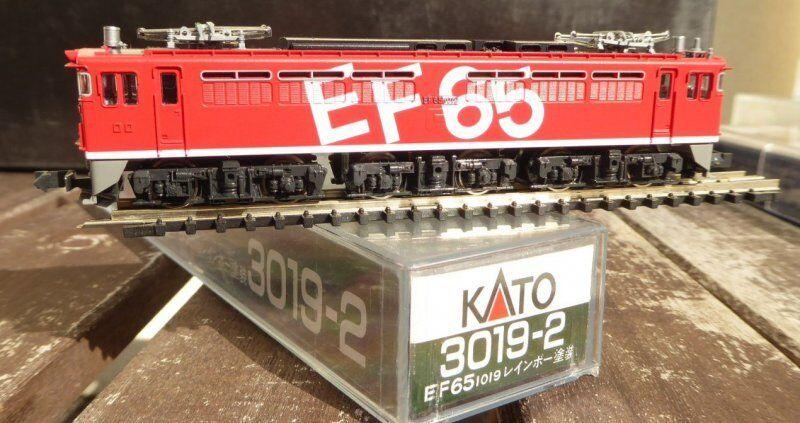 Kato 3019-2 Scala N Elektro-Lokomotive Ef 65-1019 Der Jnr Giappone Neuwertig