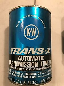 VINTAGE-K-amp-W-Trans-X-Automatic-Transmisson-Tune-Up-14-Oz