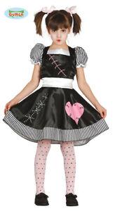enorme sconto lusso orologio Dettagli su Costume Vestito Bambola assassina bambina Halloween, Carnevale  g8579