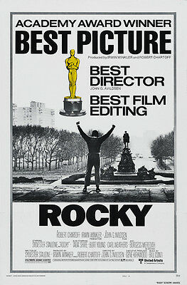 Sylvester Stallone movie poster 24x36 inches 1976 Rocky