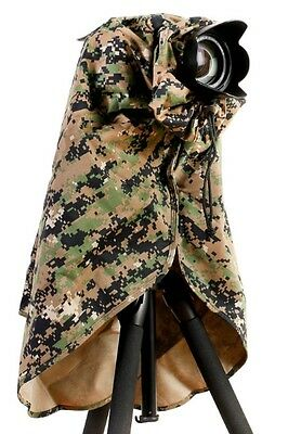 Matin Camera Camouflage Rain Cover Small 180mm for Canon Nikon Sony DSLR/SLR