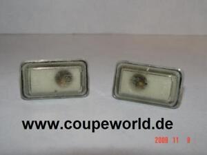 Audi-Urquattro-Blinker-Rauchfarbig-Frontschuerze-Neu