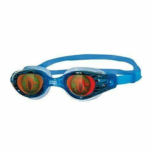 Purple 6-14 Years Zoggs Juniors Sea Demon Hologram Swim Goggles Swimming