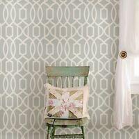 Nuwallpaper Grand Trellis Peel And Stick Wallpaper - Grey Nu1421 - Feature Wall