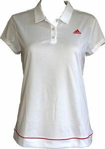 ADIDAS-TENNIS-abbigliamento-Adidas-Polo-da-donna-bianche-t-shirt