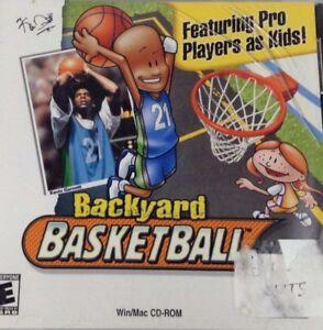 Backyard Basketball - PC Win/Mac CD-ROM, 2001 NEW CASE ...