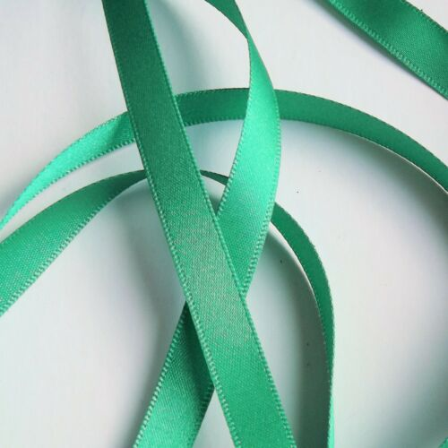 Double Satin Ribbon Parakeet 675 Various widths R3501 Berisfords Ribbon