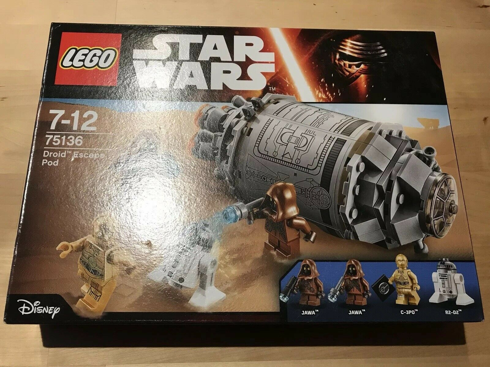 Lego Star Wars 75136 - Droid Escape Pod. New, Sealed.