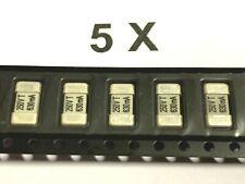 5 X 630ma Dull 250v 45x8mm Smd Fuse Versilb Siba 160000063gt 5 Piece