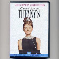 Breakfast at Tiffany's 1961 classic movie good DVD Audrey Hepburn George Peppard