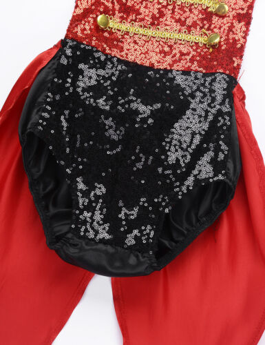 Toddler Kids Baby Girls Circus Ringmaster Costume Halloween Party Fancy Dress Up