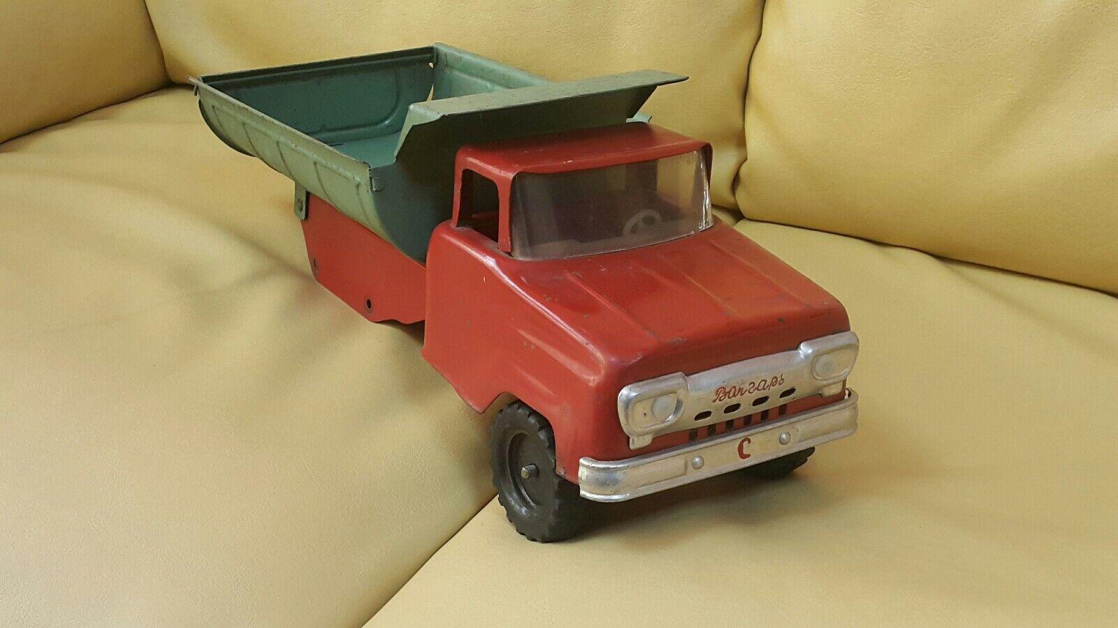 Vintage Tonka Camión Saratov volgar 400 Volga pesados grande URSS RUSIA CCCP