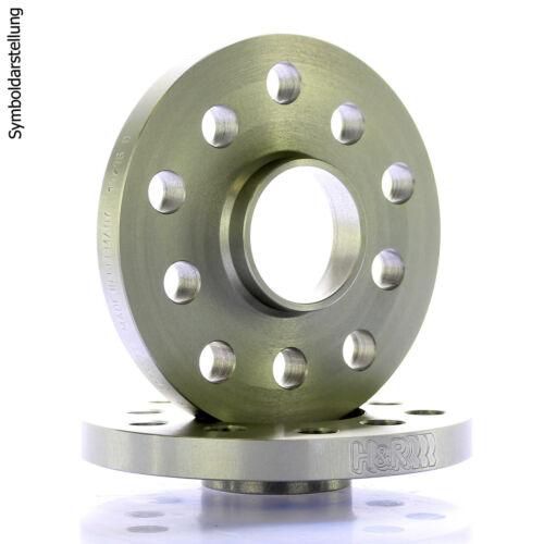 5 5x120 6 mm //// 2x3mm H/&r Dr plaques Espaceurs distance vitre MZ ø72
