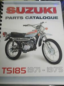 Suzuki-TS185-parts-manual-1971-1972-1973-1974-1975