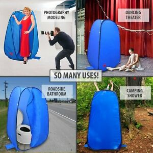 Image is loading Portable-Changing-Tent-Room-Pop-Up-Portable-C&ing- & Portable Changing Tent Room Pop Up Portable Camping Shower Pool ...