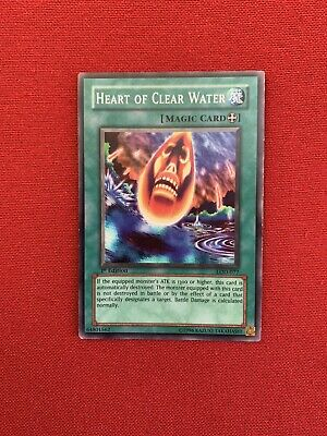 Heart of Clear Water  LOD-077 1ST Edition Common NM YuGiOh