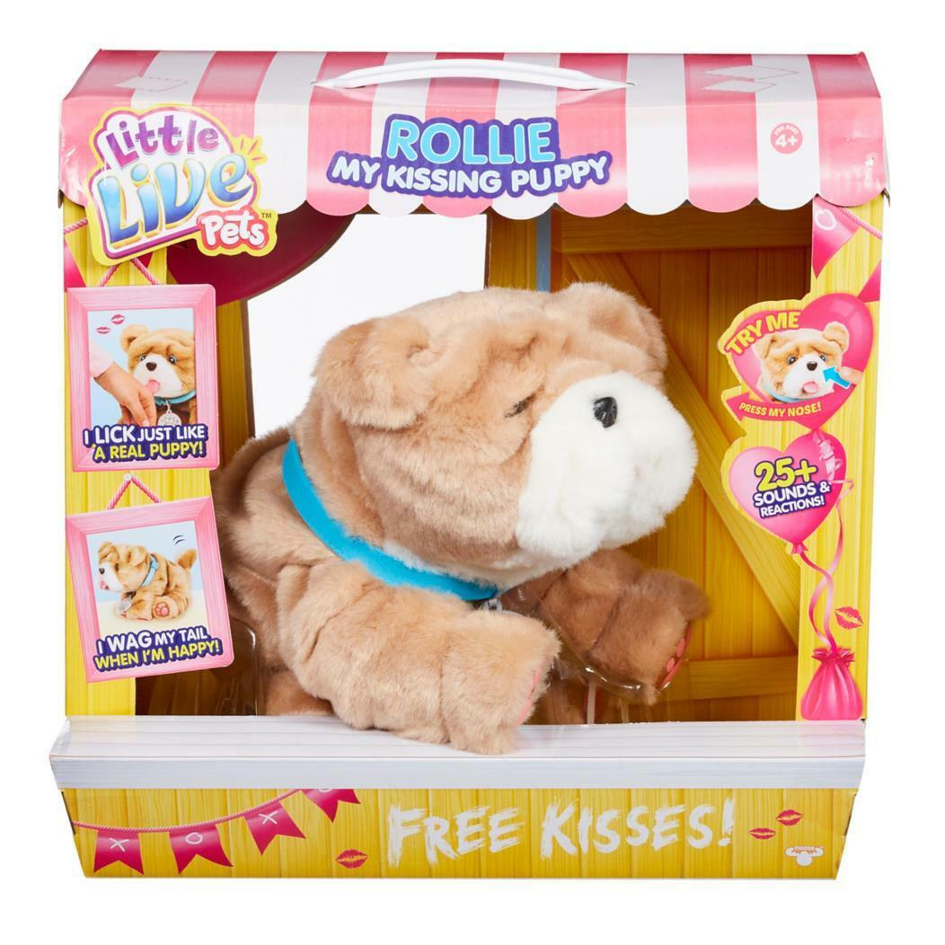 Little Live Pets Rollie My Kissing Puppy NEW
