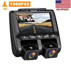 TOGUARD-Dual-Dash-Cam-Full-HD-1080P-340-3-034-LCD-Car-DVR-Video-Camera-Sony-Sensor