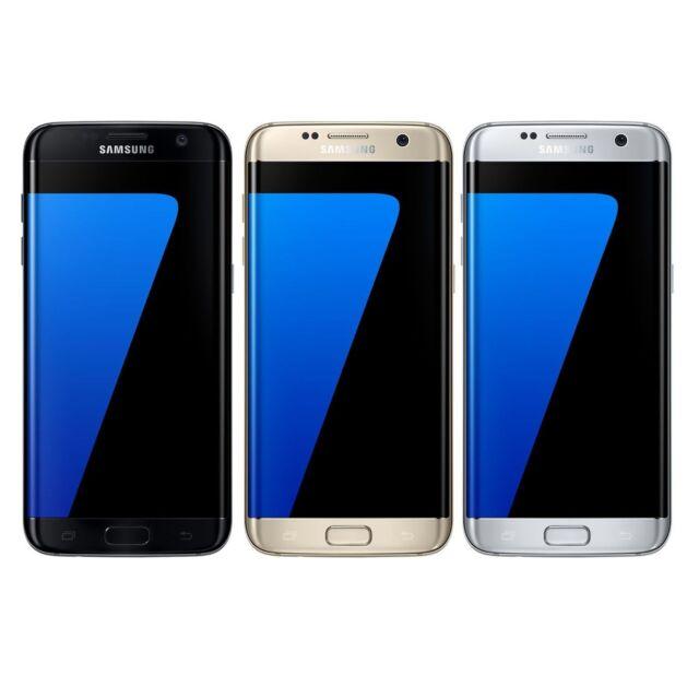 Samsung Galaxy S7 Edge DUOS 32GB Unlocked GSM 4G LTE Octa-Core Smartphone - New