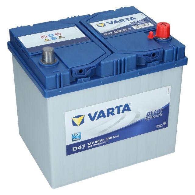 Varta D47 12V 60Ah 540A/EN Autobatterie Blue Dynamic PKW Batterie NEU