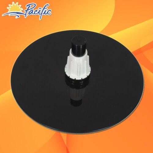 """Black female foam velvet MANNEQUIN head holder base display wig hat glasses 11/"""""""