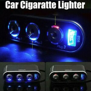 3-Way-Triple-Auto-Car-Cigarette-Lighter-Socket-Splitter-12V-24V-Way-USB-Switch