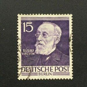 Timbre-BERLIN-Yvert-et-Tellier-n-82-Obl-Lot-D-Cyn37-Stamp