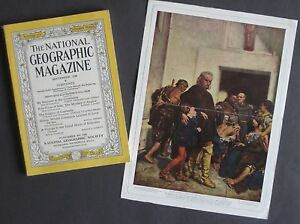 1928-Dehodencq-Painting-CHRISTOPHER-COLUMBUS-Genoa-Cambodia-Robinson-Crusoe-Siva