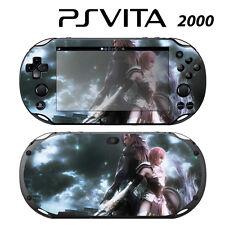 Vinyl Decal Skin Sticker for Sony PS Vita Slim 2000 FF Lightning 1