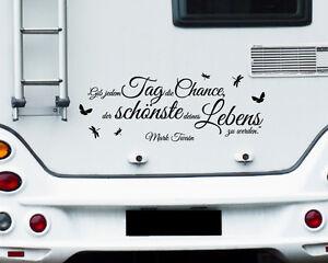 Wohnmobil Aufkleber Wohnwagen Aufkleber Caravan Sticker