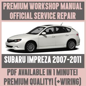 2011 subaru impreza service manual pdf