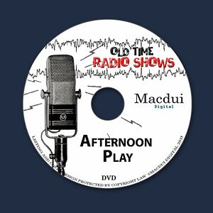 Afternoon-Play-Old-Time-Radio-Shows-Drama-2-OTR-MP3-Audio-Files-on-1-Data-DVD
