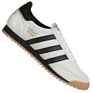 newest collection 18b38 989ee Image is loading Adidas-Originals-Dragon-Leather-Shoes-Sneakers-Trainers -Classic-