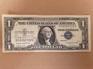 1 Dollar 1957 From Usa ( Offer 3 ) BüGeln Nicht