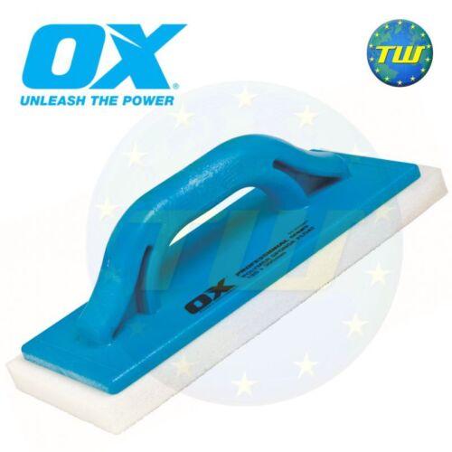 OX Tools Pro 12in fine plâtrage éponge flotteur marbriers mousse truelle P016411